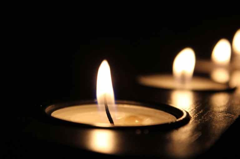 art blur burnt candle
