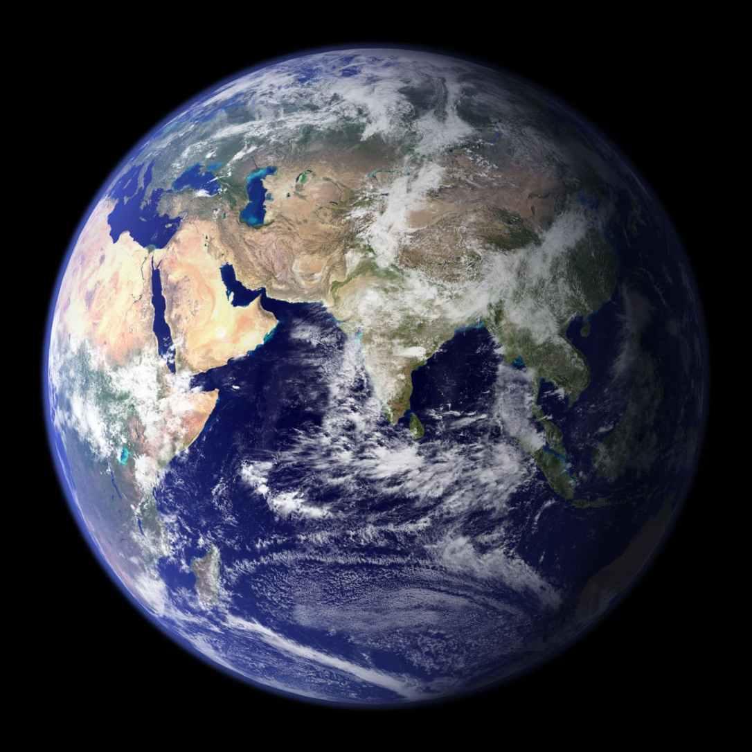 earth space universe globe