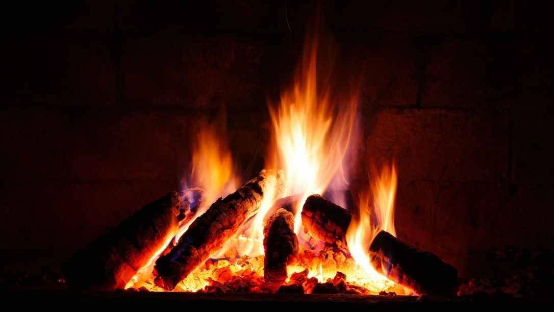 bonfire burning burnt campfire