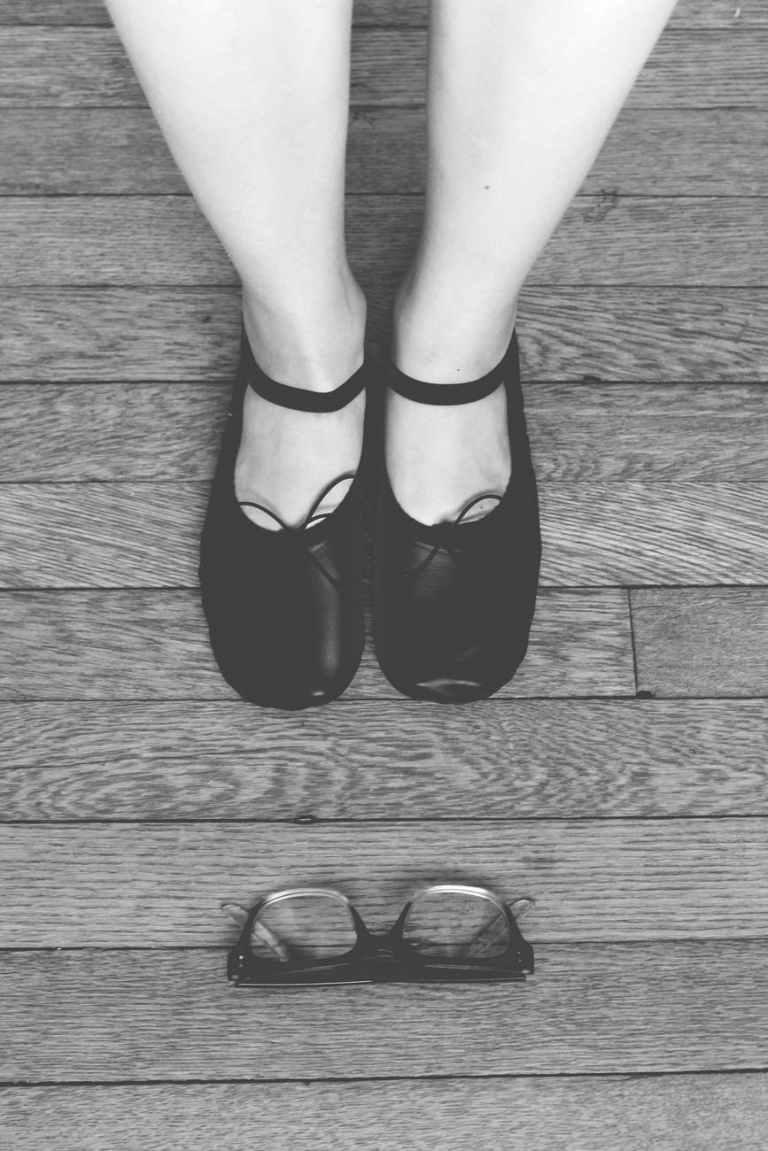 black leather mary jane shoes