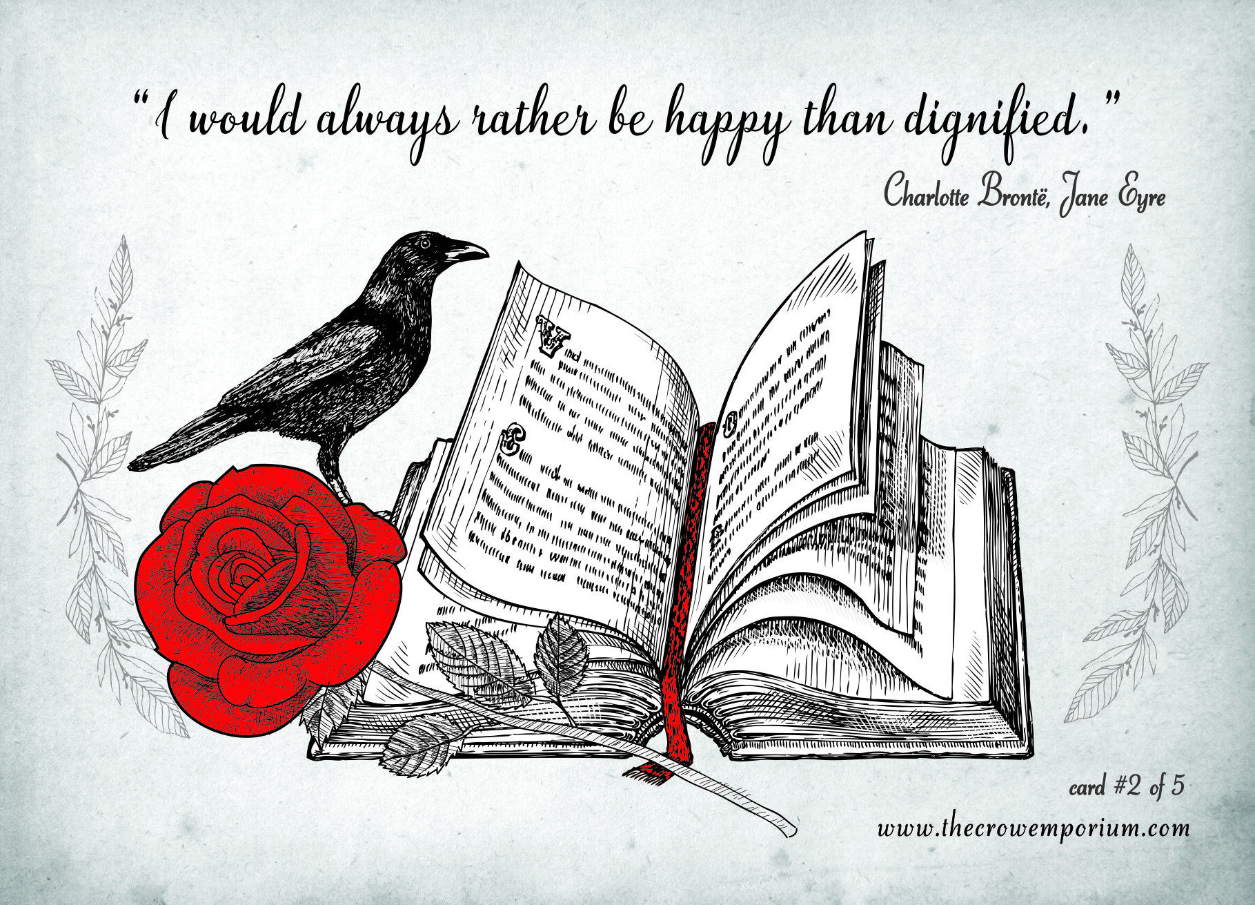 Greeting Cards and Wrapping Paper — The Crow Emporium